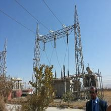 Transmission line iron tower Substation Structure