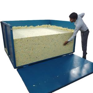 China factory direct best selling wasted foam rebonding machine recycle foam second use foam maker