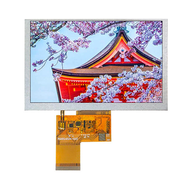 OEM ODM 4.3 inch Chimei Innolux AT043TN25 V.2 tft lcd screen 480x272 for Automotive portable navigation