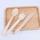 High Quality China Manufacturer Wooden Knife Fork and Spoon Disposable Wood Utensil