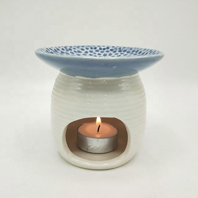 <span class=keywords><strong>Quemador</strong></span> de aceite de cerámica vela aromaterapia cera esencial de fragancia de la casa caliente difusor de aromaterapia