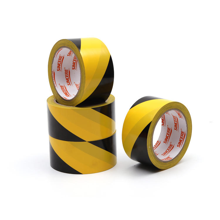 Custom Strong warning tapes reflective safety Marking Tape for safety warning