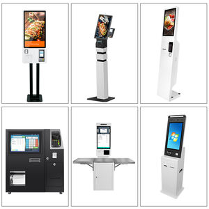 Touchscreen stand auto service de stationnement ticket kiosque de file d'attente pour restaurant restaurant commande automatique kiosque d'information