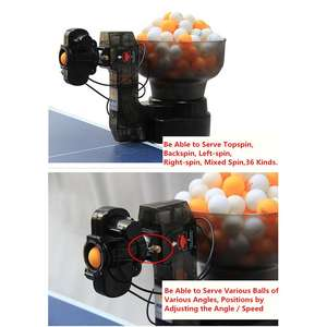 HP07 PingPong Robot 36 Different Spin Automatic Ball Machine Balls Table Tennis Robots