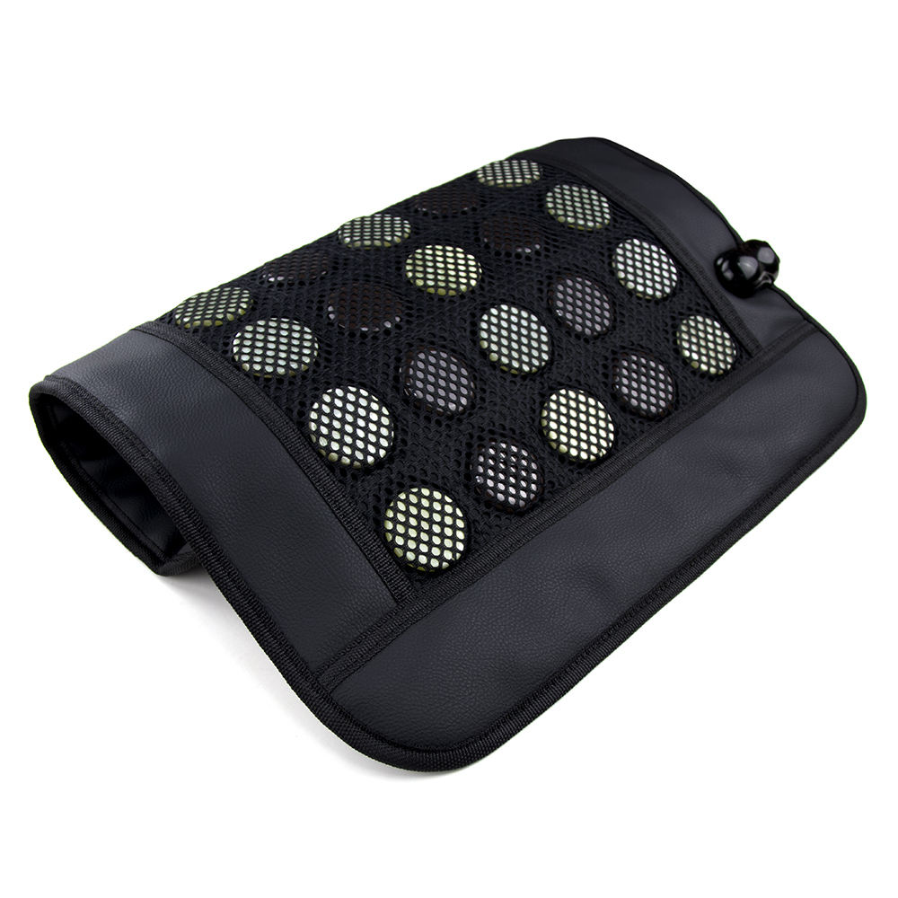 shiatsu infrared electric car massage cushion/ jade stone massage bed& battery operated vibrating buttocks massage cushion