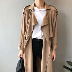 ot215 custom windbreaker jackets women trench coat ladies pl