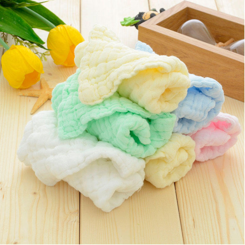 yiwu sprouts Muslin Face Cloths made from Organic Cotton Baby Wipe Bath Washcloths