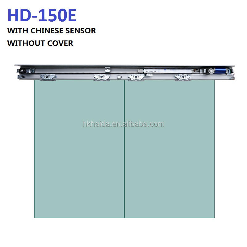HAIDA Excellent Quality Automatic Sliding Door System with Sensor For Frameless Door / Frame Door HD-150E