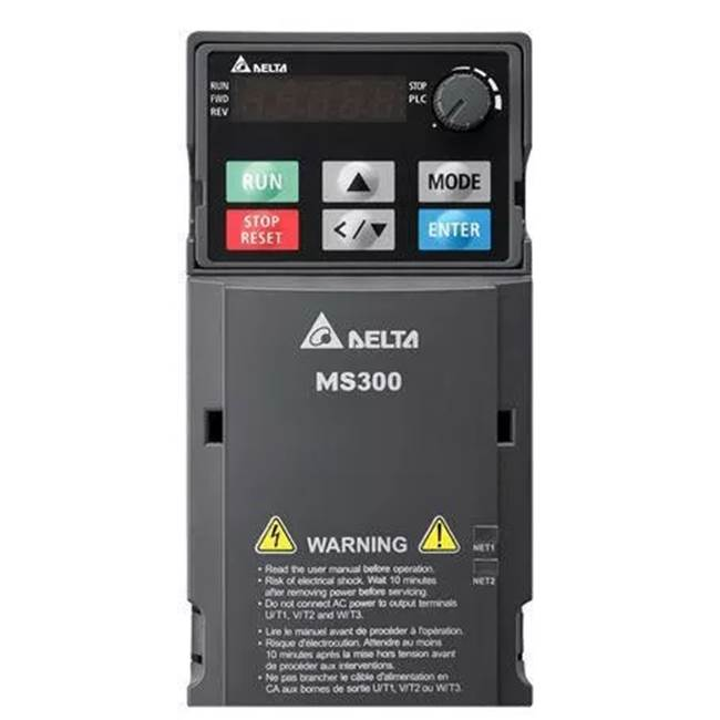 Taiwan Brand Delta VFD 0.2-2.2KW 230V Single Phase Three Phase With Built-EMCでFilter