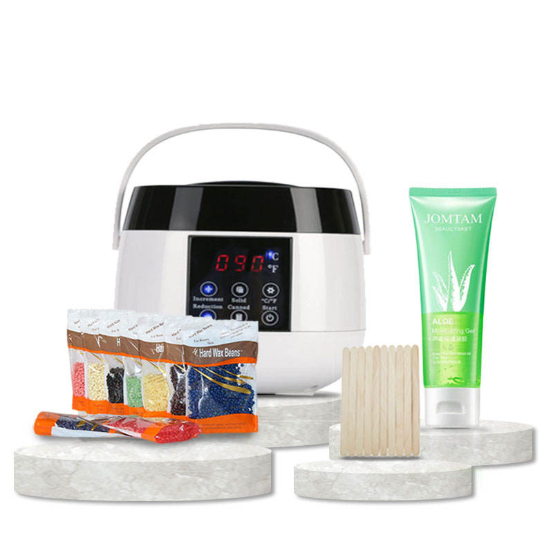 Hot Selling 500ml Smart Wax Heater Wax Warmer Hair Removal Kit