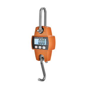 300kg Crane Scale Heavy Duty Electronic Digital Stainless Steel Hook Scale Hanging LCD Loop Weight Balance
