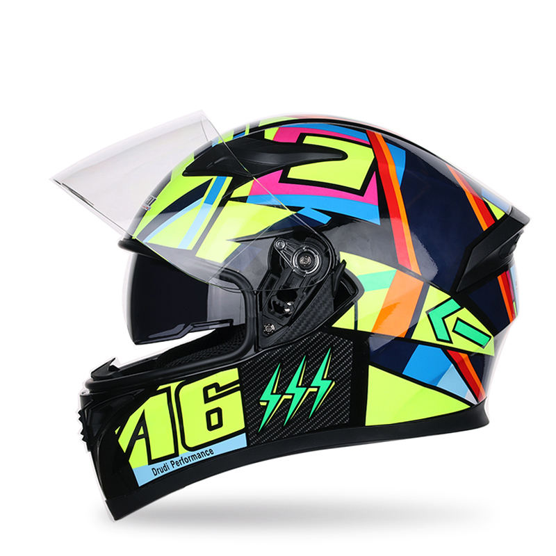 Cheap Flip Up Open Face Moto Racing Riding Motorcycle Helmets
