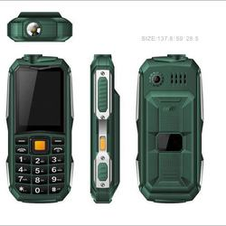 2.4 inch OLED screen Original rugged phone with FM