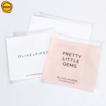 Sinicline 2019 custom safe shipping PVC ziplock bag for cosmetics package
