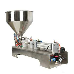 KA PACKING semi automatic canned tomato/tooth/aluminium paste filling machine