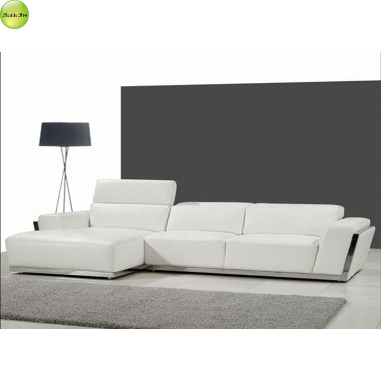 noble and elegant modern indoor room leather sofa