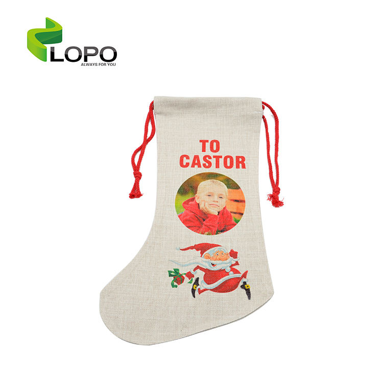 Best Selling!!! Sublimation Blank Wholesale Christmas Socks For Decoration
