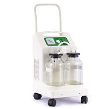 9A-26D mucus anti-overflow suction phlegm medical mobile aspirator for bedside