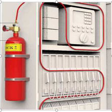 Factory direct sales FM 200  and extinguishing system