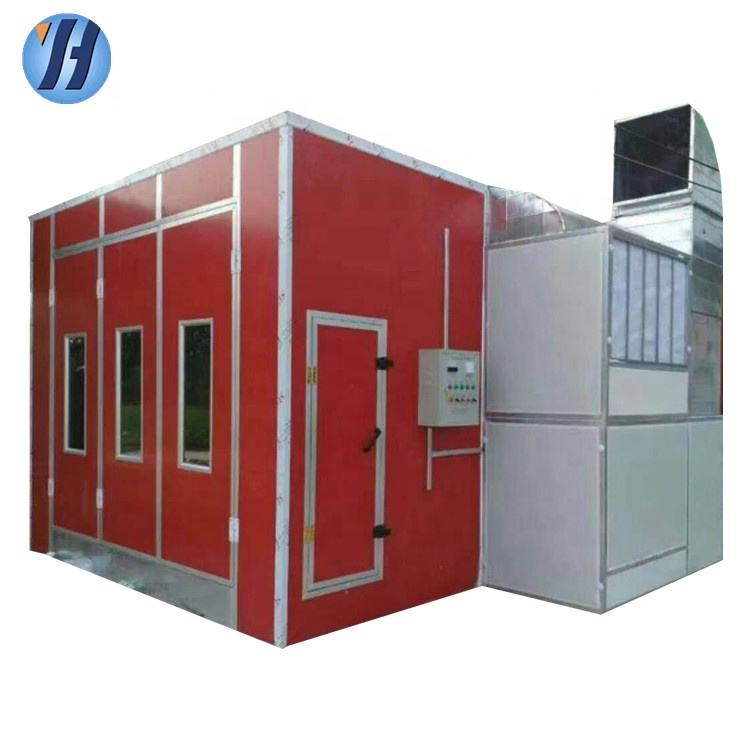 Ce Approved Spray Booth Used Paint Booth Car Painting Machine For Sale