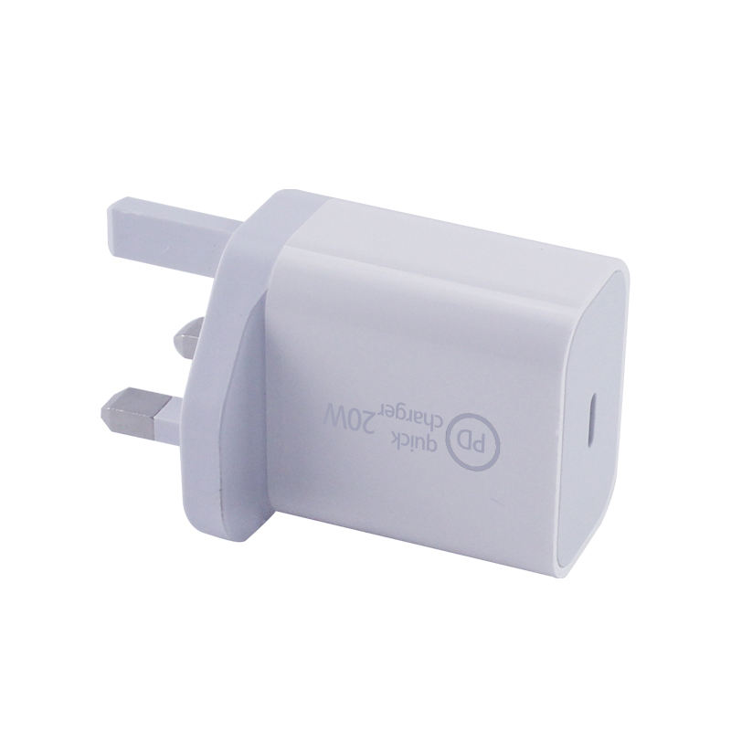 In-Stock EU AU UK Plug 20w PD Charger Travel Mini Size 20W USB C Type QC Mobile Fast Charging Phone Charger for iPhone12 Apple