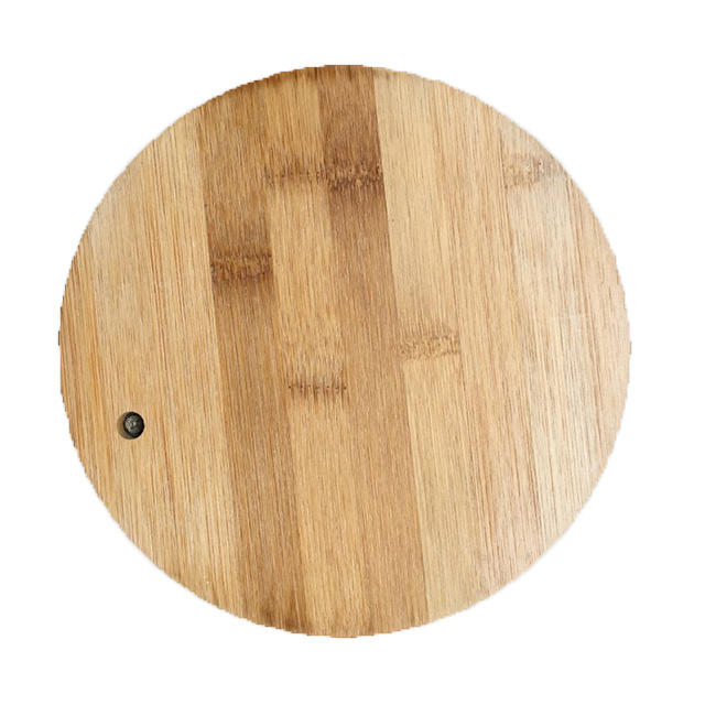 Top selling factory wholesale high quality round cheese cutting board set bamboo cutting board