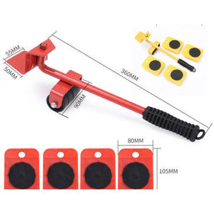 heavy duty easy furniture lifter sliders kit mover tools