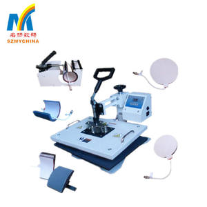 5 in 1 T-shirts Heat Press Machine Combo Sublimation Mugs Thermal Transfer Machines For Sale