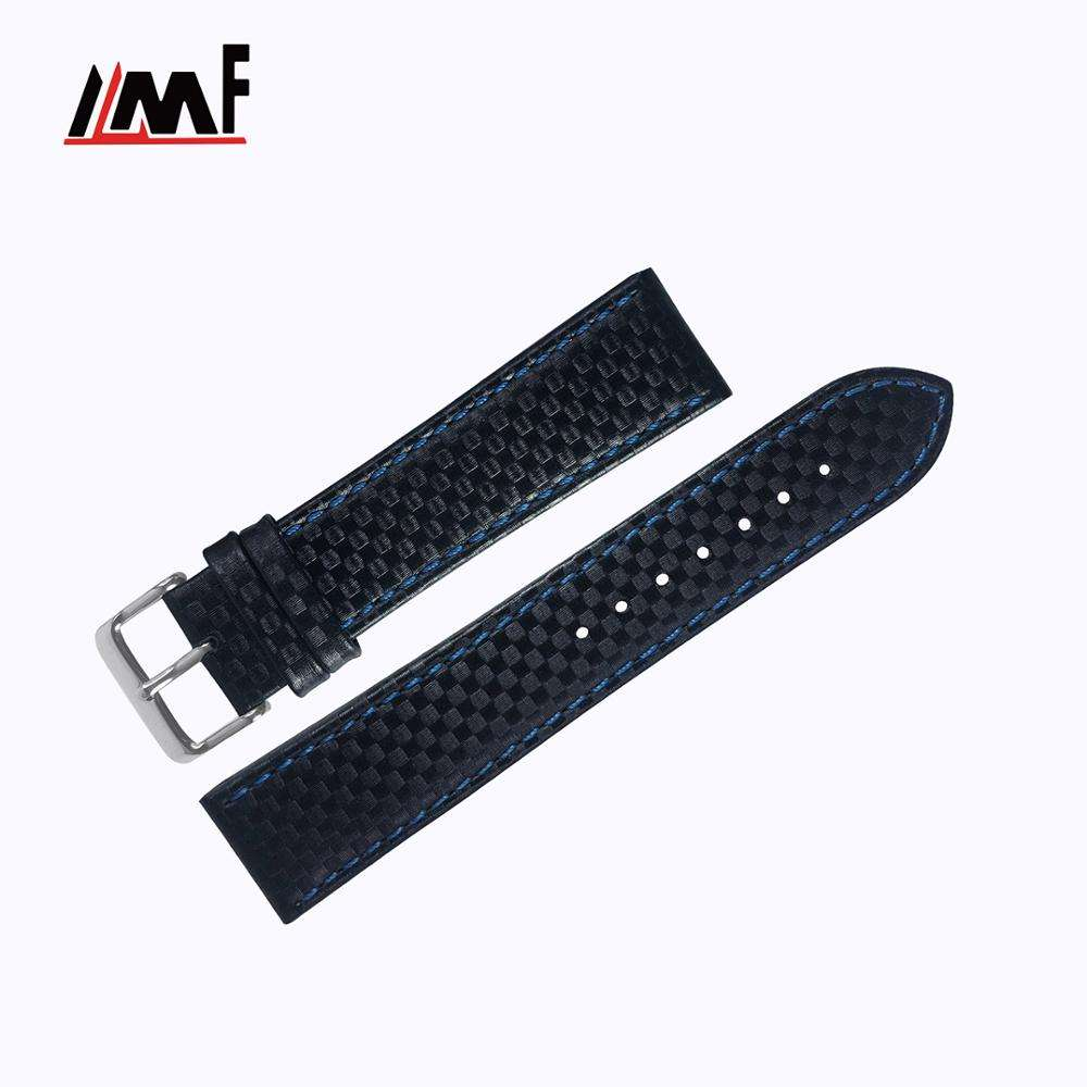 Tailor Made Wholesale Brand Soft 18Mm Calf Leather Adjustable Watch Strap For Apple Watch