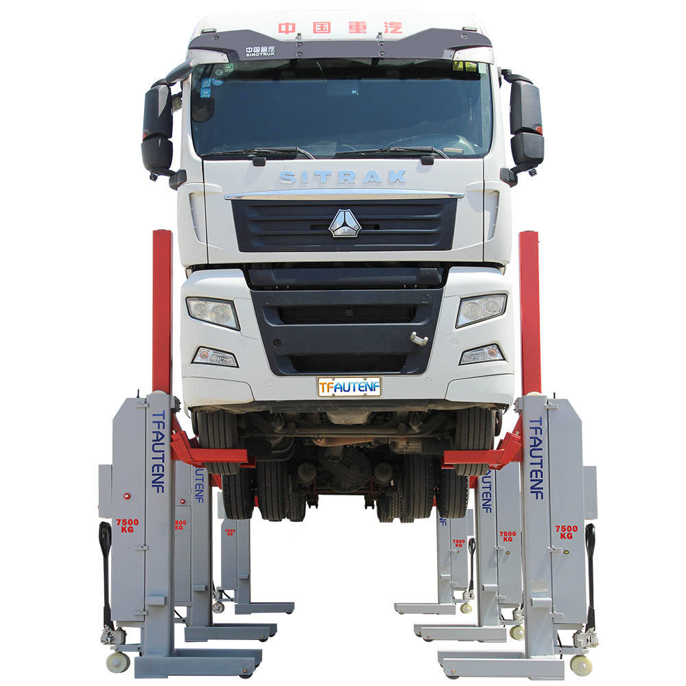 TFAUTENF TL-6055 car lift/commercial truck lift with 33 tons lifting capacity for big truck