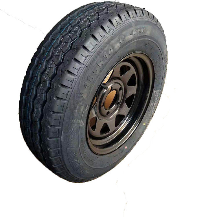 top 10 chinese tyre brand trailer tire 185R14C with black wheel