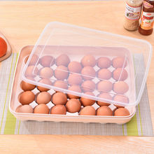 Eco friendly plastic eggs holder eggs carton container holder for kitchen