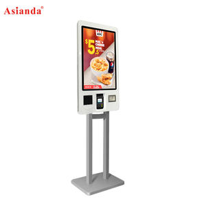 24 32 Order Touch Screen POS System Self Pay Self Service Payment Order Kiosk for Mcdonald S KFC Restaurant Manufactures