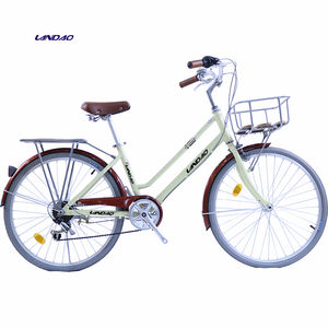 landao bicycle newest product 24'' Al alloy frame no folding bike city bike made in China