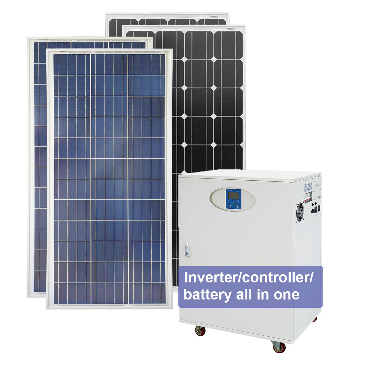 All in one 3000W Home Solar System /Solar Panel System 3000W solar energy system/3KW Solar Power System Home