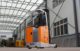 Side Standing 48V Big Electric Reach Truck Forklift for Sales