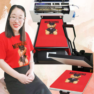 multifunctional a3 digital inkjet t-shirt printer with epson head garment shoes hat dtg printer for t-shirt
