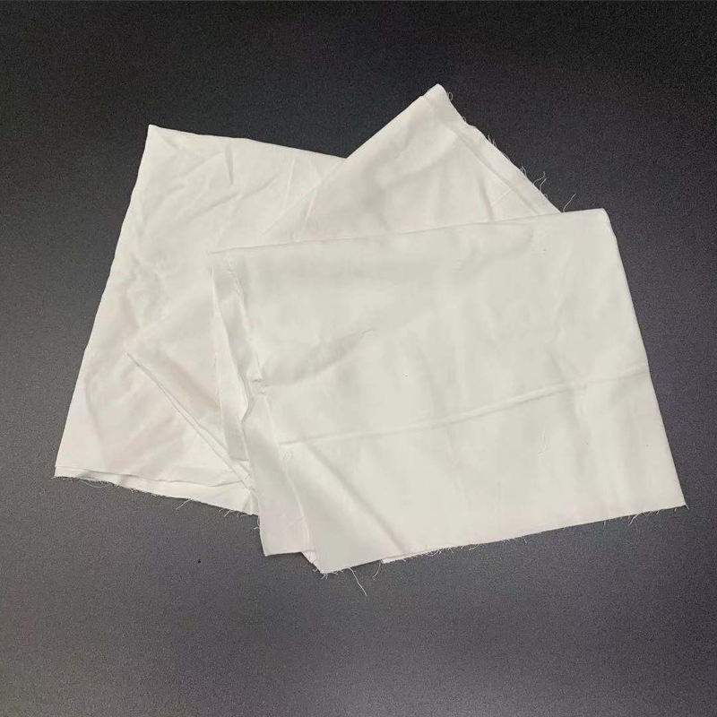 Oem Accept Water Absorption Fabric White Used Clothes Bed Sheet For Industrial Rags