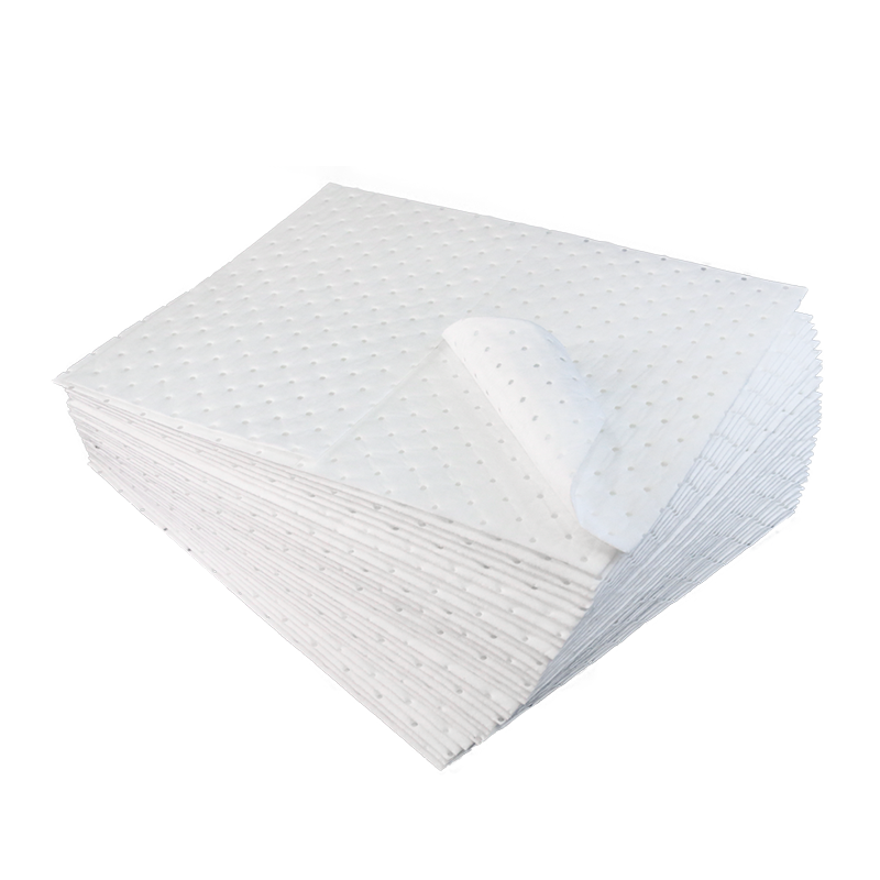 Hot Selling Melt Blown Nonwoven Fabric Material Oil Absorbent Mats
