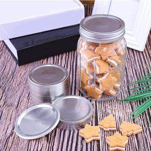 2.7 3.4 inch metal jar cap glass jar lid mason canning jar lids