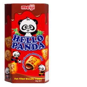 Hello Panda Cocoa type Chocolate Flavoured Biscuit made in Singapore