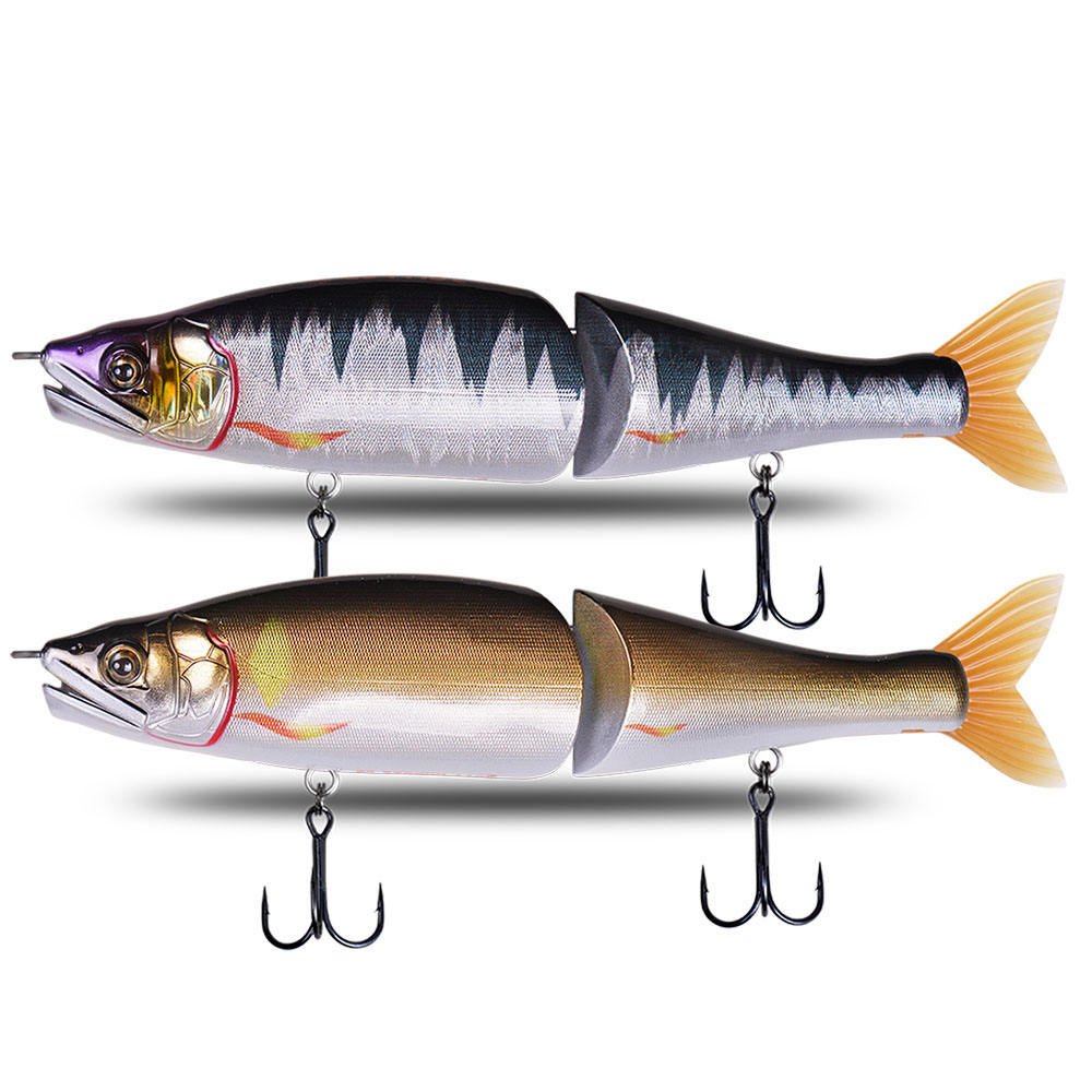 Lifelike Hard Swimbait Jointed Bait Simulate Lure For Pike Big Bass Fishing Lure 220mm 178mm Slow