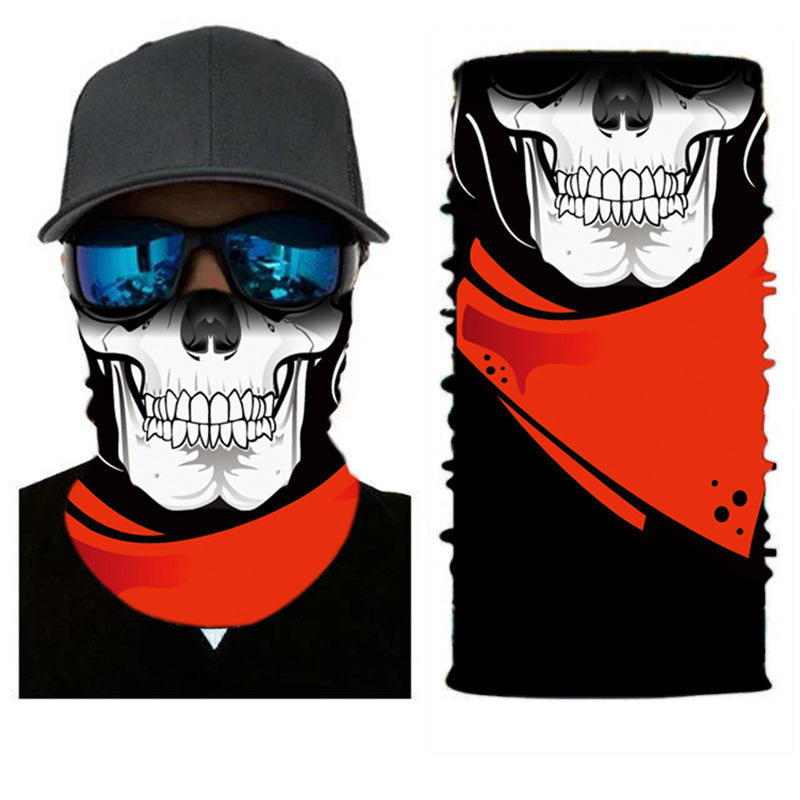 oem headwear bandana motorcycle scarf face fishing sublimation neck gaiter