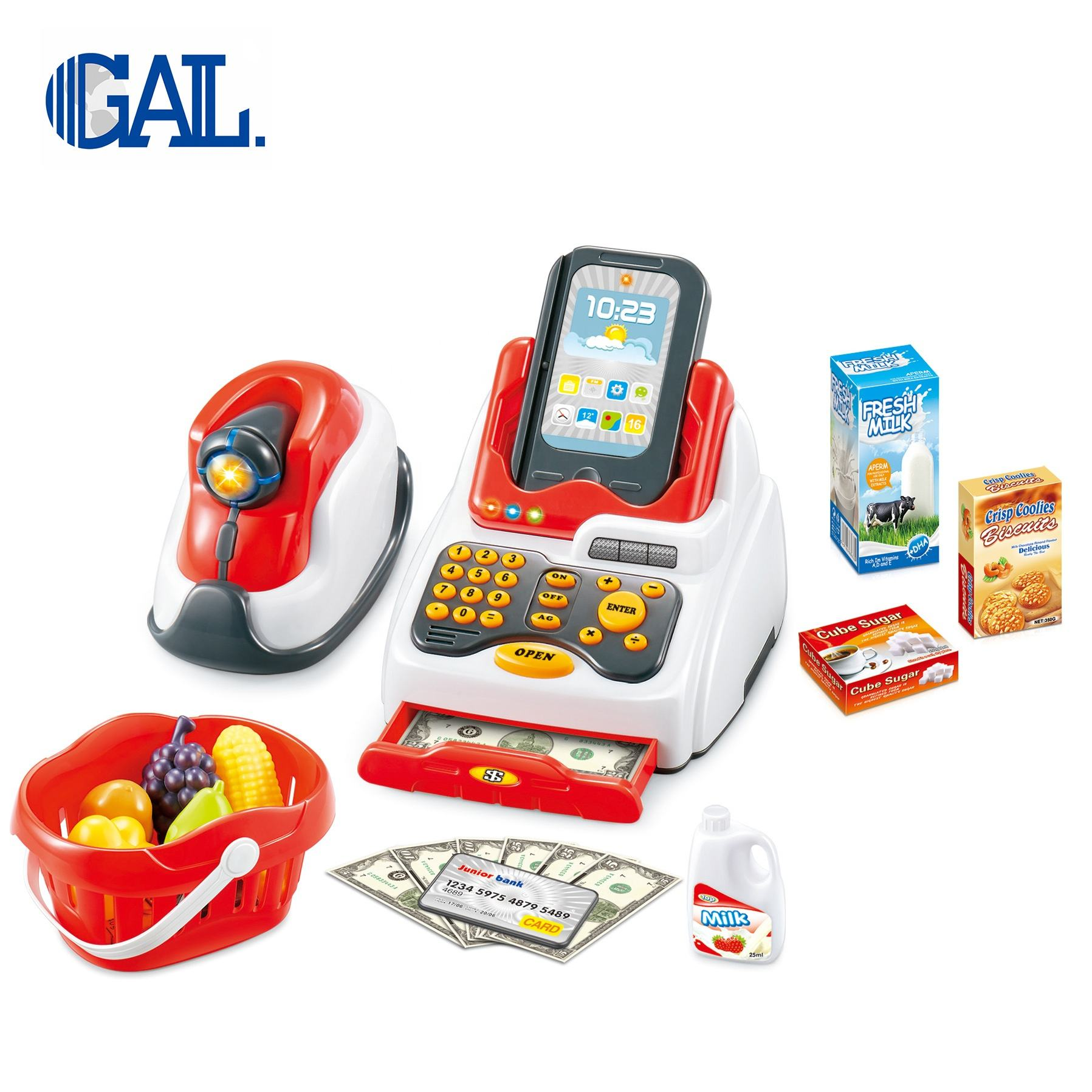 Multifunctional kids cash register toys small toys for kids
