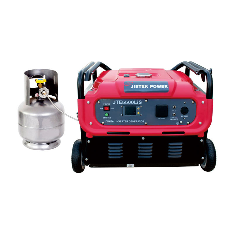 Fabrik <span class=keywords><strong>Großhandel</strong></span> 5kw Digitale Gas Inverter Generator 5,5 kw 50Hz Gas Powered Strom Inverter Generatoren