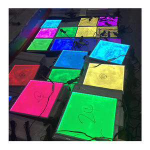 Eigene form led rgb panel/RGB led Decke Einbau panels/wasserdichte PMMA LED Panel