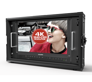 15 Inch Broadcast Monitor 4K 3840X2160 Uhd Ips Lcd Voor Professionele Live Event Post Productie Directeur Film camera Veld