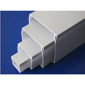 pvc trunking 50x50 PVC Wiring Channel Square Duct /PVC Cable Trunking