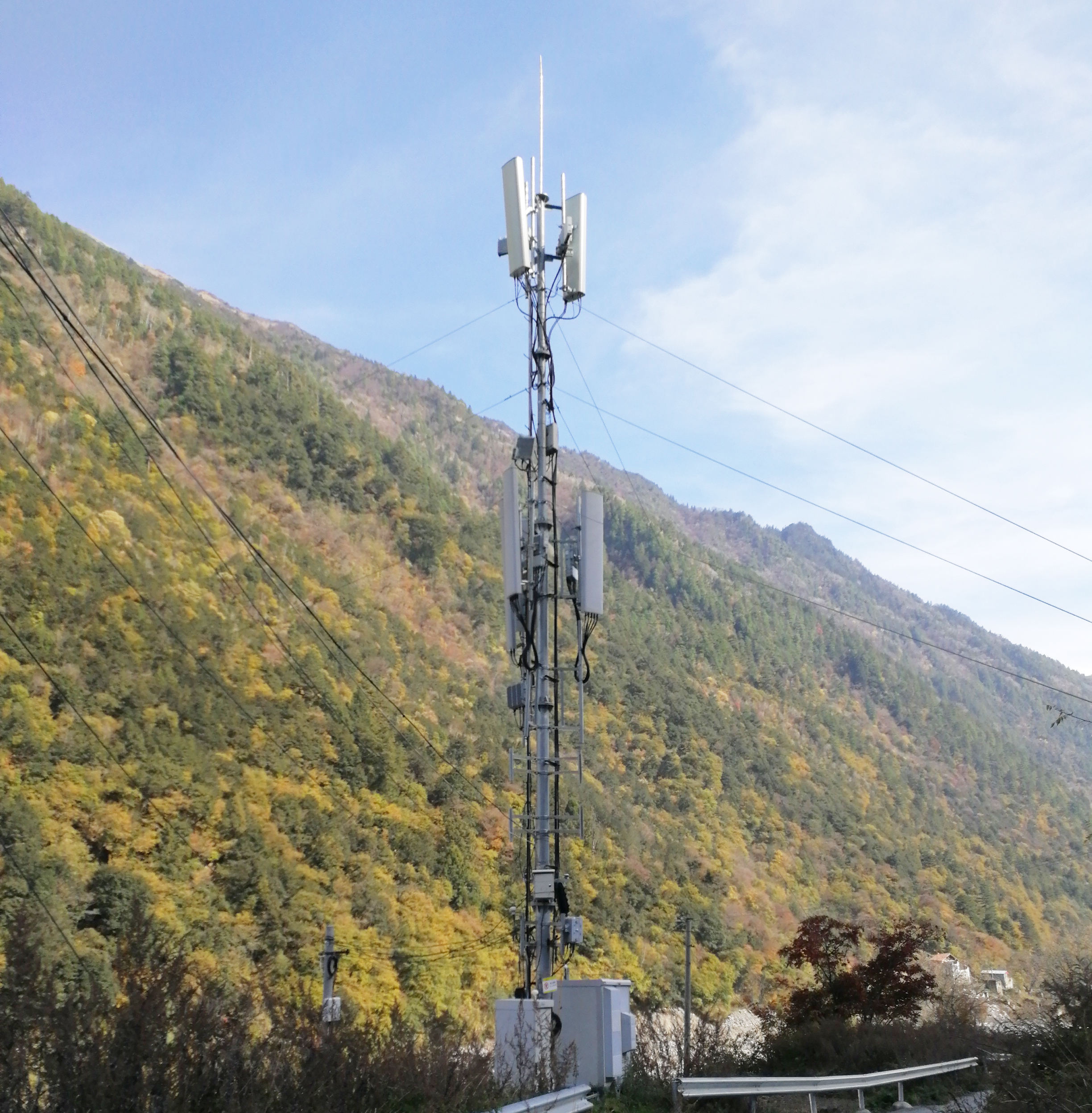 Steel Tower Angel Steel Cellular Mobile Galvanized Telecommunication Tower