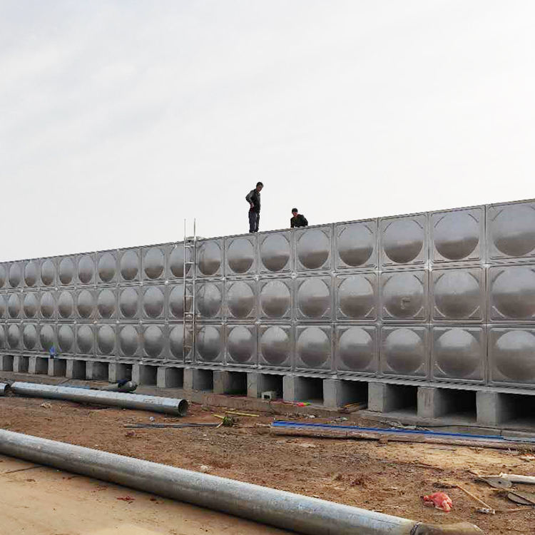 SMC FRP GRP modular panel type water storage tanks for potable water storage